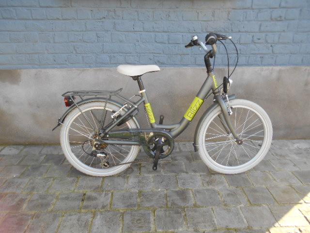 Bikefun blizz anthraciet/groen 20